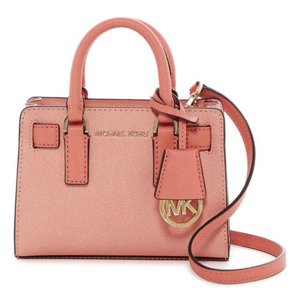 Michael Kors ハンドバッグ 特価!Michael Kors TZ Small サフィアノレザー Crossbody 2way(10)