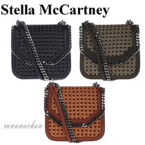 Stella McCartney FALABELLA BOX Wicker ショルダー 3色☆