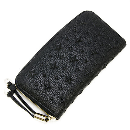 Jimmy Choo FILIPA EMG zip long wallet