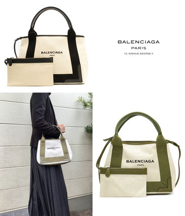 popular BALENCIAGA canvas tote XS Pouch with