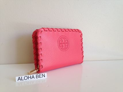 TORY BURCH  Marion Zip Coin Case Spiced coral 即発送