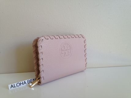TORY BURCH  Marion Zip Coin Case Light Oak  即発送
