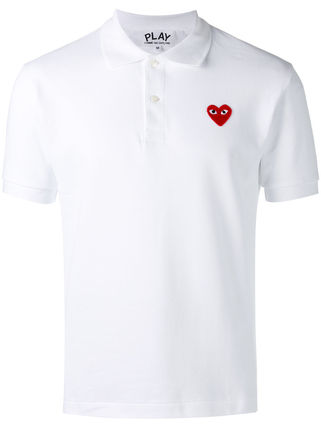 COMME DES GARCONS PLAY classic Polo top