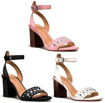 <NEW>3色 COACH PAIGE Studded Heel