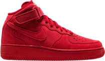 SS17 NIKE AIR FORCE 1 MID GS SUEDE GYM RED 22.5-25cm