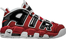 SS17 NIKE AIR MORE UPTEMPO BULLS MEN'S VARSITY RED US6-14