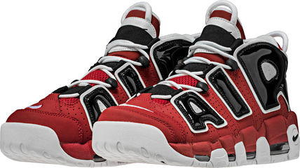 Nike スニーカー SS17 NIKE AIR MORE UPTEMPO BULLS MEN'S VARSITY RED US6-14 (2)