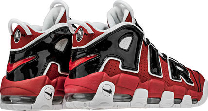 Nike スニーカー SS17 NIKE AIR MORE UPTEMPO BULLS MEN'S VARSITY RED US6-14 (3)