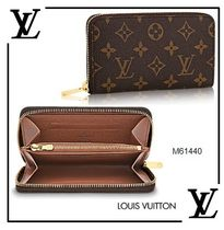 2017SS◆Louis Vuitton◇ジッピー・コンパクト ウォレットNM