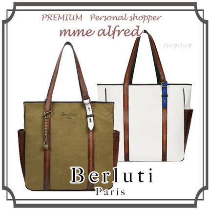 17th SS Berluti CHILL-OUT tote bag