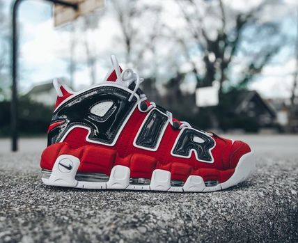 "入手困難 NIKE AIR MORE UPTEMPO OLYMPIC 96 ""Bulls"""