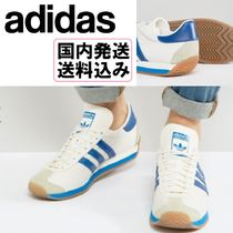 【送料込】adidas Originals* Country OG Trainers In White *