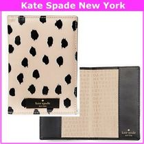 kate spade new york(ケイトスペード) 母子手帳ケース 17SS★Kate Spade★フラミンゴ パスポート/母子手帳ケース