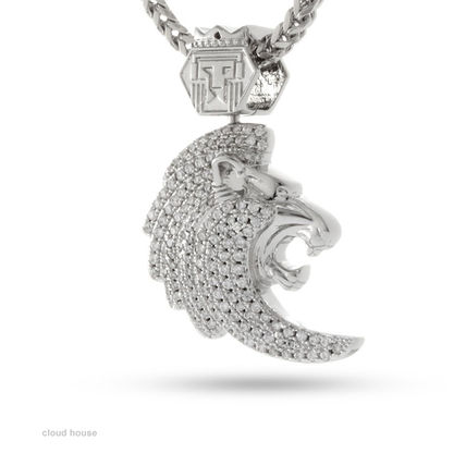 King Ice ネックレス・チョーカー 【King Ice】The Lyon Necklace★White Gold★送料税込/国内発送(2)