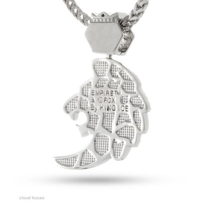 King Ice ネックレス・チョーカー 【King Ice】The Lyon Necklace★White Gold★送料税込/国内発送(3)