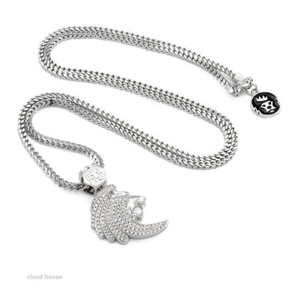 King Ice ネックレス・チョーカー 【King Ice】The Lyon Necklace★White Gold★送料税込/国内発送(4)