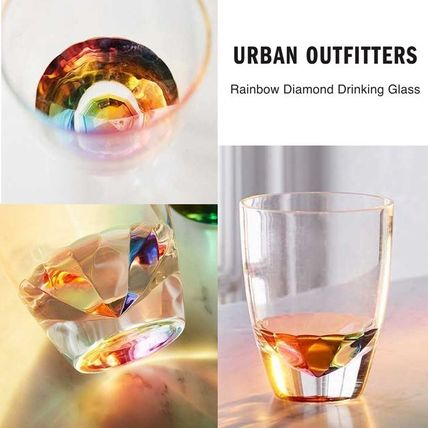 UO diamond glass, set of 2
