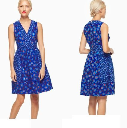Kate Spade full plume tangier floral fit  flare dress 関税込