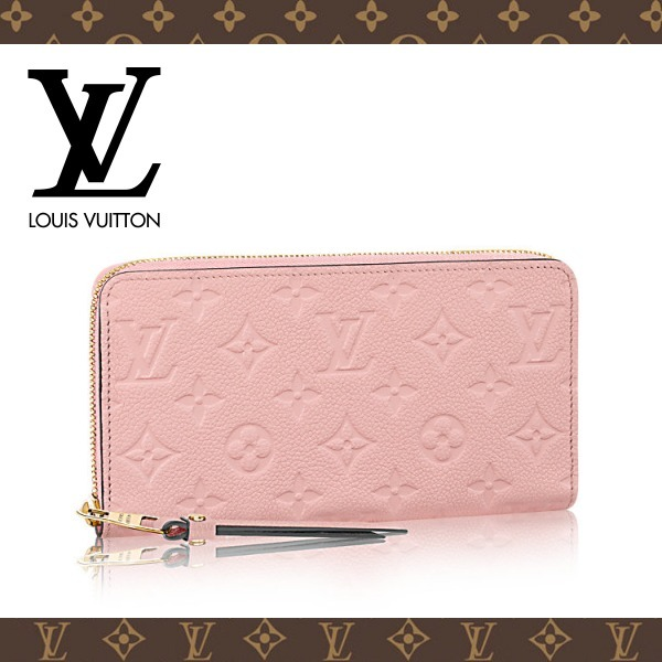 2017SS☆LOUIS VUITTON☆ジッピー・ウォレット Rose poudre
