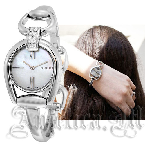 ★レア★GUCCI Horsebit Small Ladies Watch YA139504