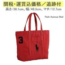 【Ralph Lauren定番】 Big Pony Canvas Tote RMBN0421LM