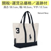 【Ralph Lauren定番】 Big Pony Canvas Tote RMBN0422LM