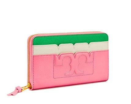 iPhone 6,7入る 期間限定セール Tory Burch SCALLOP-T WALLET