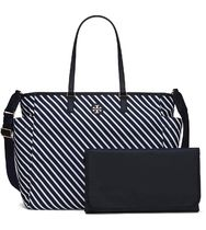 Tory Burch SCOUT STRIPE BABY BAG TOTE
