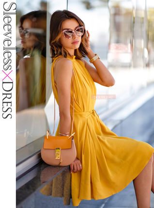 Classy elegant simple dress S/M/L/XL