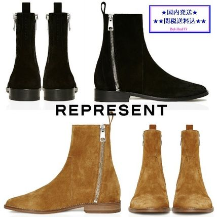 REPRESENT both side dip Chelsea boots