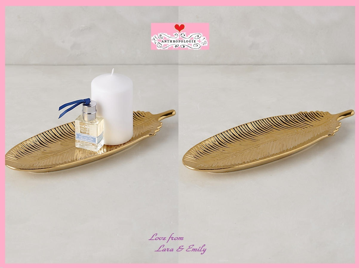 17SS☆最安値保証*関税送料込【Anthro】Mythical Feather Tray