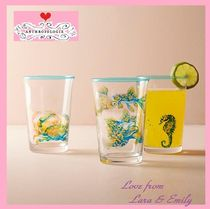 17SS☆最安値*関税送料込【Anthro】Sea Creature Juice Glass2点