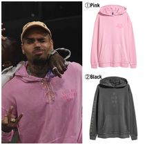 【Chris Brown愛用】☆海外限定☆Printed Hooded Sweatshirt