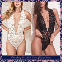 ★Victoria's Secret★セクシー☆Crossback Lace Plunge Teddy♪