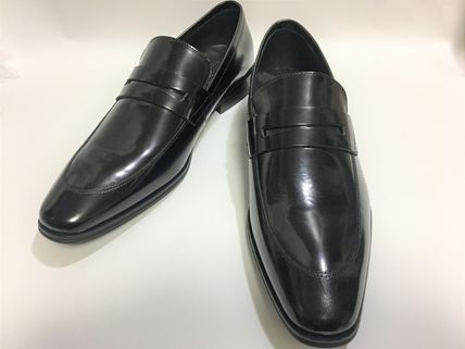 Men's VERSACE COLLECTION? loafer dress shoes