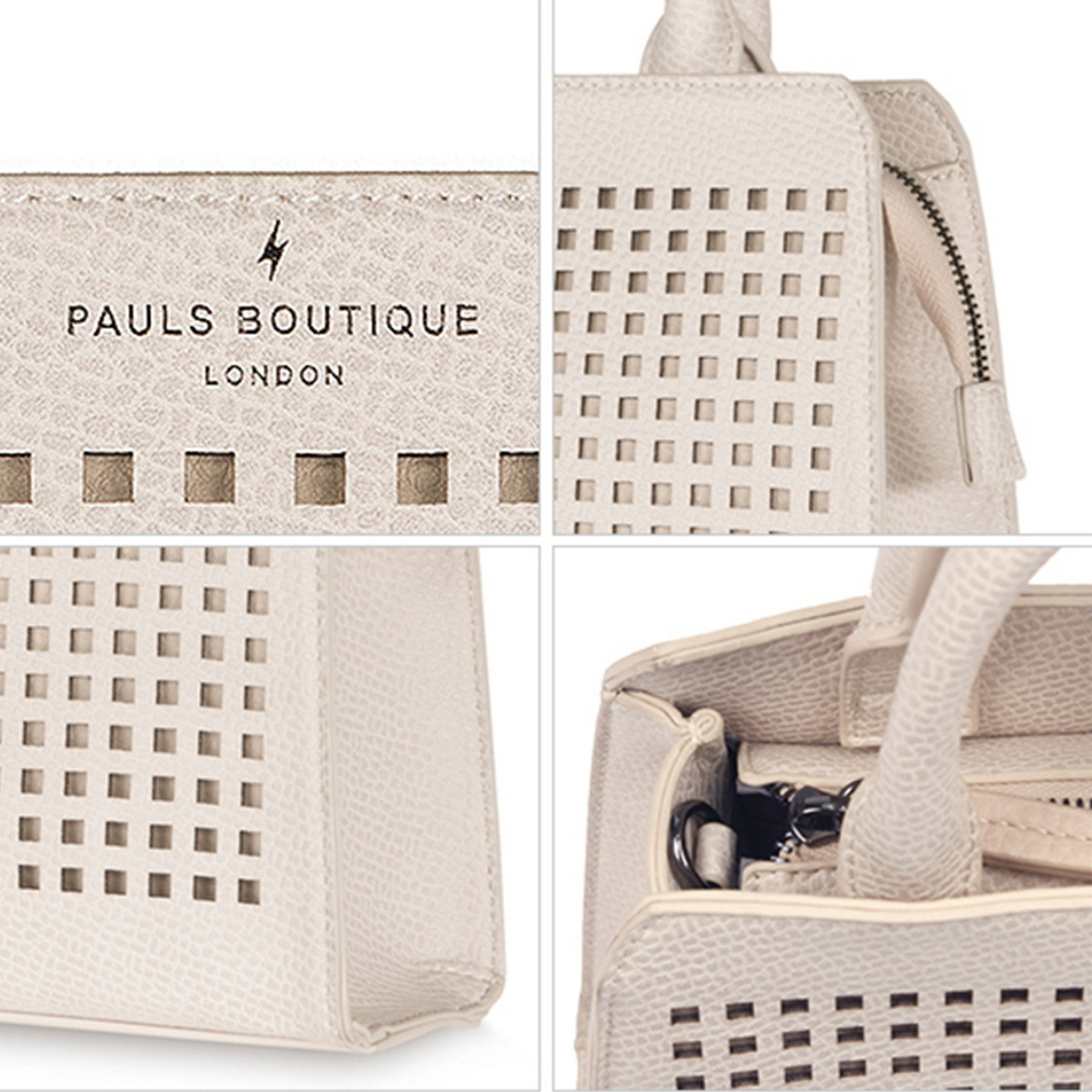 【PAULS BOUTIQUE】EMS発送★17SS★トートバッグ★PG1WHAGN040