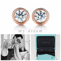 【Tiffany & Co】By The Yard Earring in 18k Rose Gold .06ct