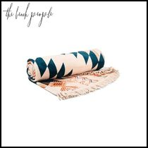 The Beach People(ビーチピープル) タオル 【The Beach People(ビーチピープル)】round cotton-terry towel