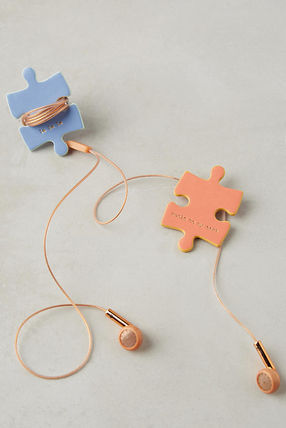 Anthropologie iPhone・スマホケース レア☆ラス1即納【Anthro】Puzzle Cord Keepers 2個セット(2)