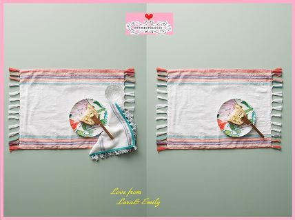 17th SS * Anthro Tulum Placemat 1 piece