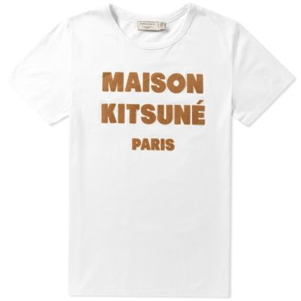 Immediate delivery MAISON KITSUNE 16AW HAIR PRINT TEE Rocky