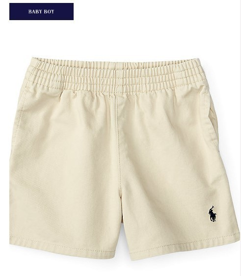 新作♪ 国内発送 2色COTTON TWILL SPORT SHORT boys 0~24M