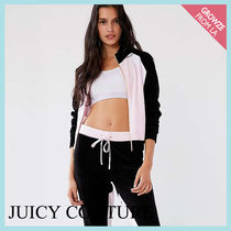 【JUICY COUTURE】新作☆ローズ カラーブロック ジャケット★