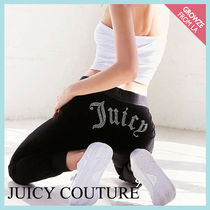 【JUICY COUTURE】新作☆ クリスタル付き スェットパンツ★3色