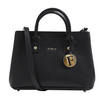 FURLA トートバッグ 2WAY LINDA MINI TOTE 835112 BHR7 B30 ONYX