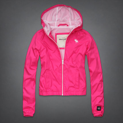Abercrombie & Fitch ジャケット ビビッドな色合いが素敵 a&f Girls Lucy Jacket ピンク