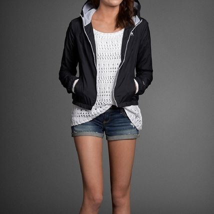 Abercrombie & Fitch ジャケット ビビッドな色合いが素敵 a&f Girls Lucy Jacket ピンク(3)