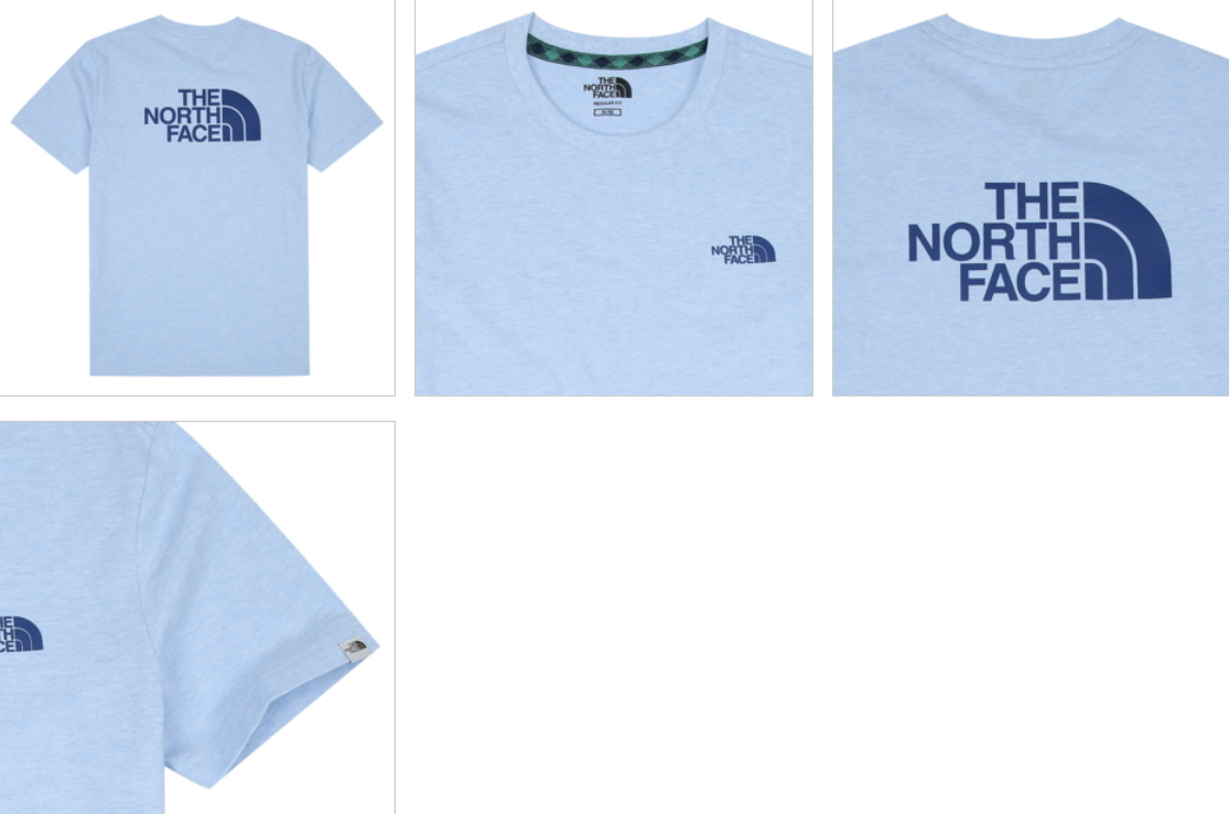 THE NORTH FACE シンプルな新作 COLOR DOME COTTON EX S/S R/TEE