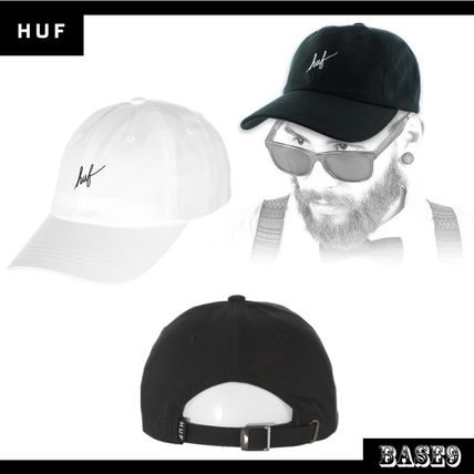Talking about drama in HUF Script LOGO CAP only