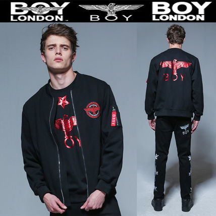 stylewow popular Boy London jumper Ma-1